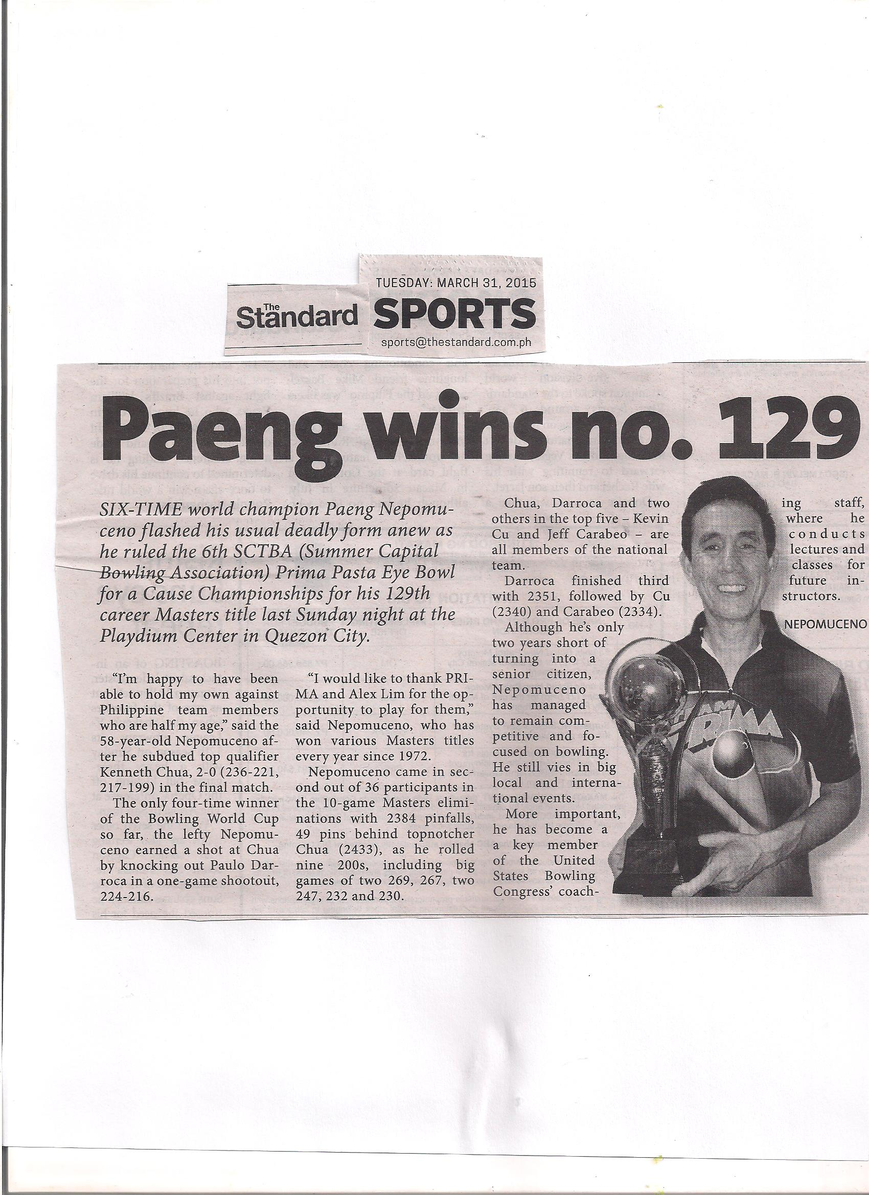 Photo Gallery Paeng Nepomuceno Official Website